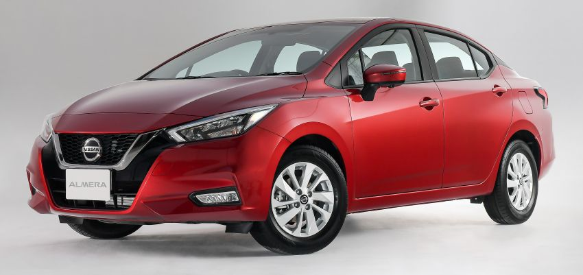 2020 Nissan Almera makes ASEAN debut, launched in Thailand: 1.0L turbo CVT, AEB, BSM, AVM, from RM69k Image #1046495