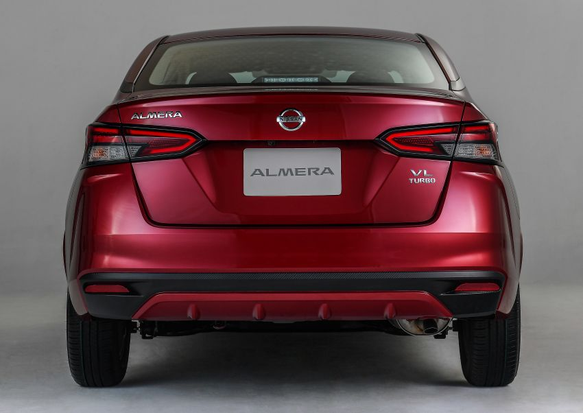 2020 Nissan Almera makes ASEAN debut, launched in Thailand: 1.0L turbo CVT, AEB, BSM, AVM, from RM69k Image #1046500
