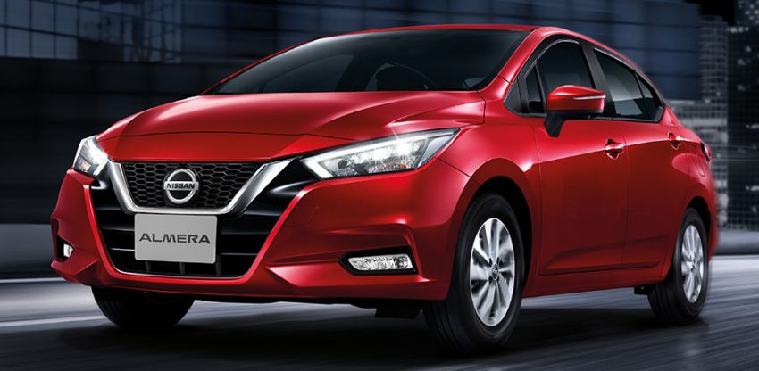 2020 Nissan Almera makes ASEAN debut, launched in Thailand: 1.0L turbo CVT, AEB, BSM, AVM, from RM69k Image #1046364