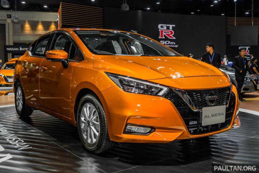 2019 Thai Motor Expo: New Nissan Almera 1.0L Turbo Image #1053367