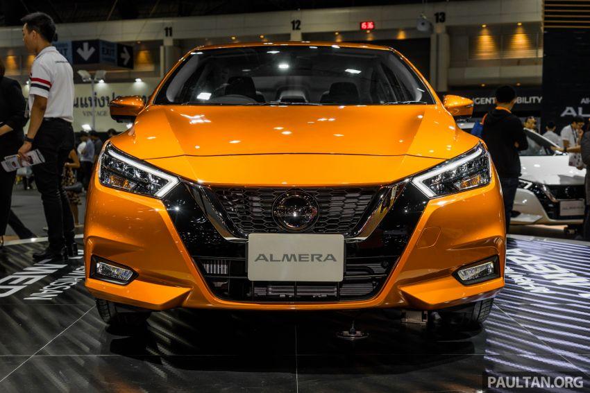 2019 Thai Motor Expo: New Nissan Almera 1.0L Turbo Image #1053370