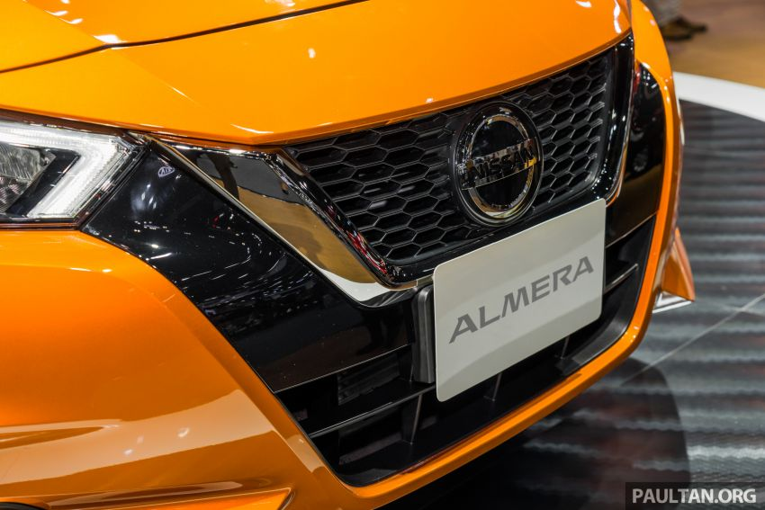 2019 Thai Motor Expo: New Nissan Almera 1.0L Turbo Image #1053374