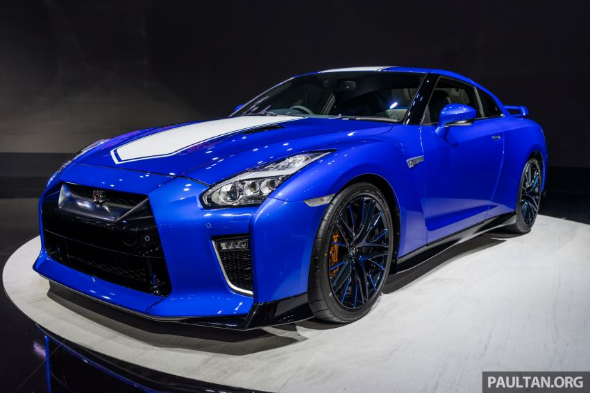 2019 Thai Motor Expo: Nissan GT-R 50th Anniversary Edition – special R35 looks stunning in Bayside Blue Image #1053576