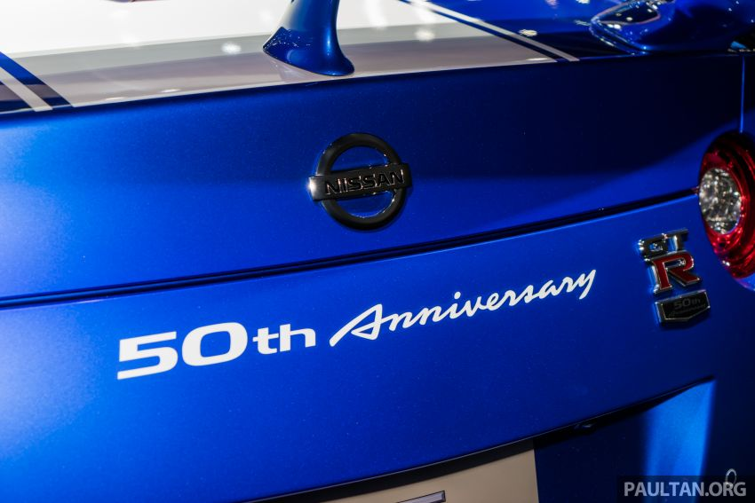 2019 Thai Motor Expo: Nissan GT-R 50th Anniversary Edition – special R35 looks stunning in Bayside Blue Image #1053593