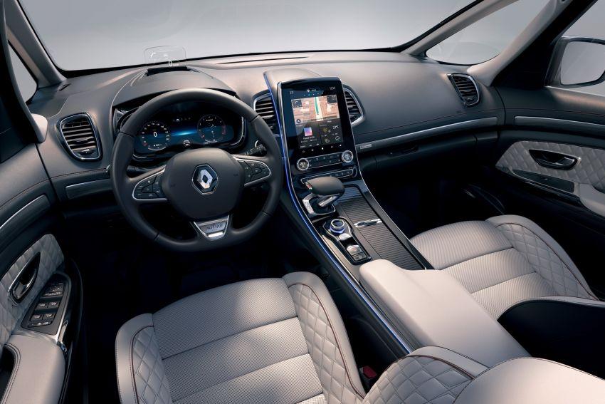 2020 Renault Espace facelift receives subtle tweaks Image #1051460