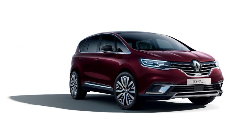 2020 Renault Espace facelift receives subtle tweaks Image #1051439