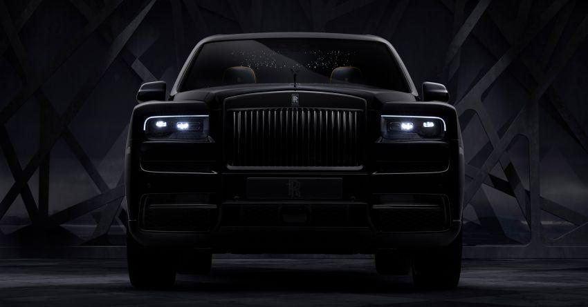 Rolls-Royce Cullinan Black Badge – blackest RR yet! Image #1044142