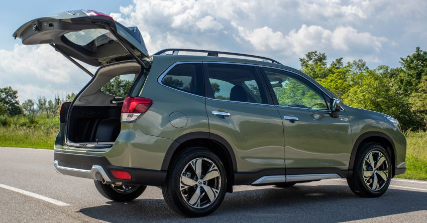 2020 Subaru Forester e-Boxer on sale in the UK – 2.0L hybrid engine up to 10% more frugal, improved safety Image #1051504