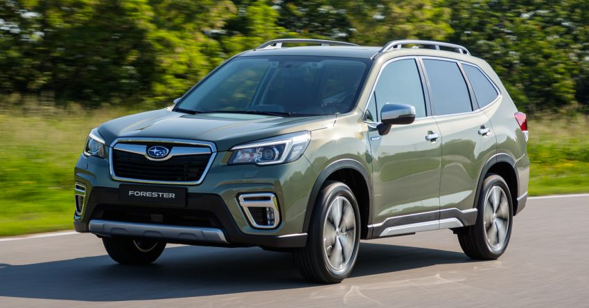 2020 Subaru Forester e-Boxer on sale in the UK – 2.0L hybrid engine up to 10% more frugal, improved safety Image #1051506