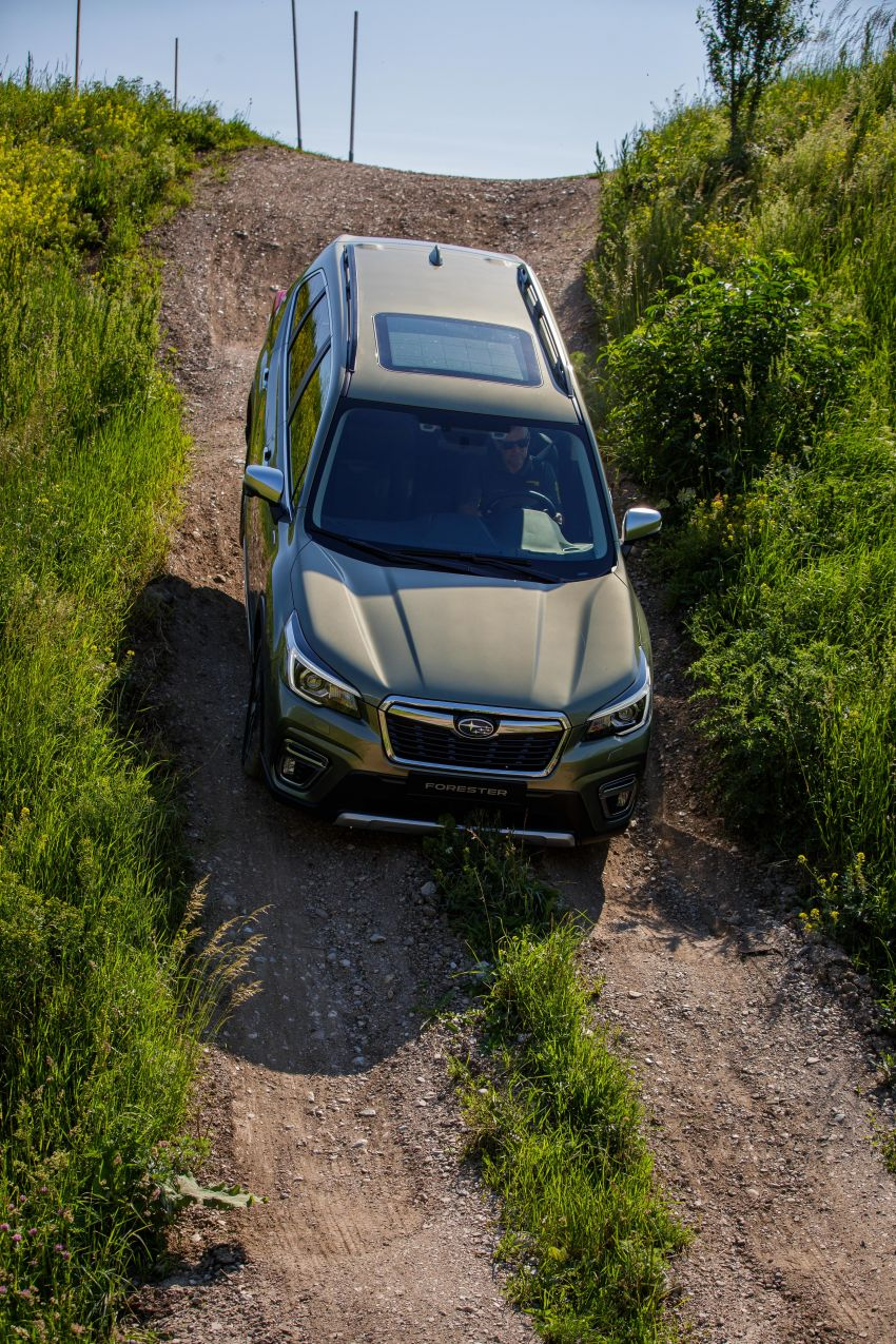 2020 Subaru Forester e-Boxer on sale in the UK – 2.0L hybrid engine up to 10% more frugal, improved safety Image #1051507