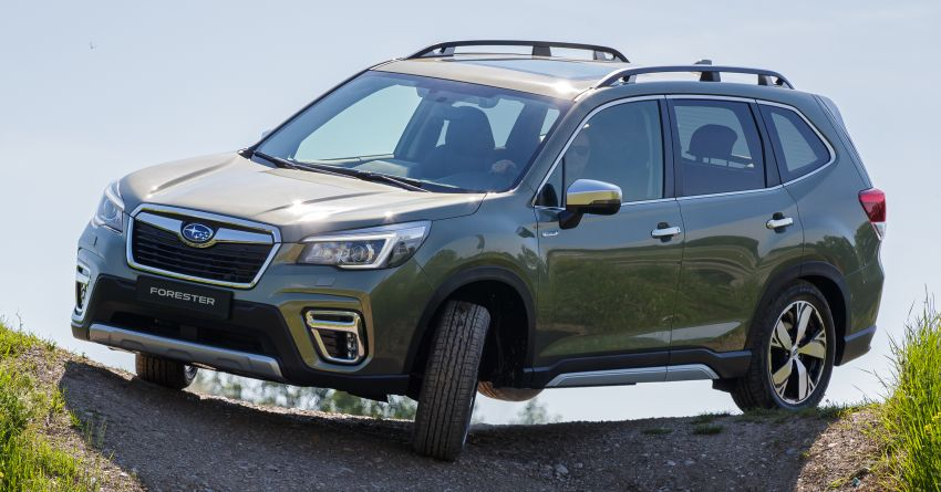 2020 Subaru Forester e-Boxer on sale in the UK – 2.0L hybrid engine up to 10% more frugal, improved safety Image #1051508