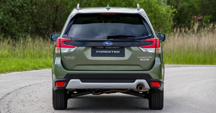 2020 Subaru Forester e-Boxer on sale in the UK – 2.0L hybrid engine up to 10% more frugal, improved safety Image #1051496