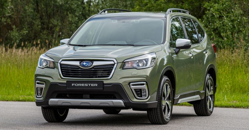2020 Subaru Forester e-Boxer on sale in the UK – 2.0L hybrid engine up to 10% more frugal, improved safety Image #1051497