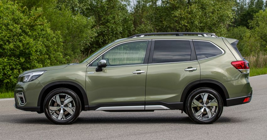 2020 Subaru Forester e-Boxer on sale in the UK – 2.0L hybrid engine up to 10% more frugal, improved safety Image #1051498