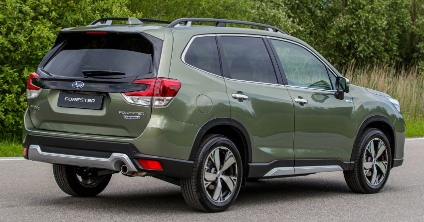 2020 Subaru Forester e-Boxer on sale in the UK – 2.0L hybrid engine up to 10% more frugal, improved safety Image #1051499