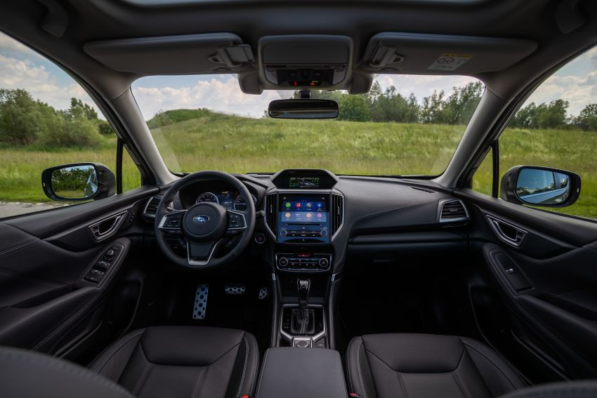 2020 Subaru Forester e-Boxer on sale in the UK – 2.0L hybrid engine up to 10% more frugal, improved safety Image #1051501