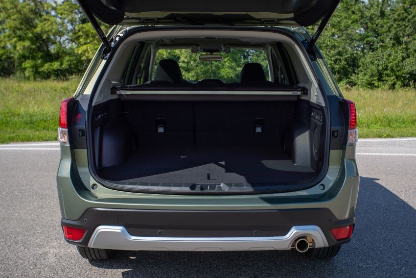 2020 Subaru Forester e-Boxer on sale in the UK – 2.0L hybrid engine up to 10% more frugal, improved safety Image #1051503