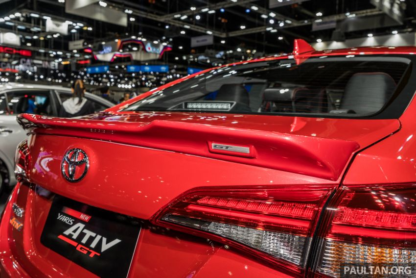 2020 Toyota Yaris and Yaris Ativ on display at Thailand Motor Expo – new 1.2L engine with VVT-iE; 3 variants Image #1053657
