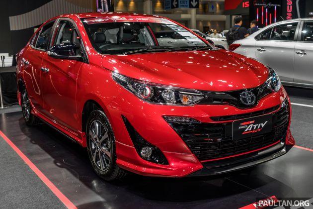toyota yaris  yaris ativ 2020 di thailand motor expo
