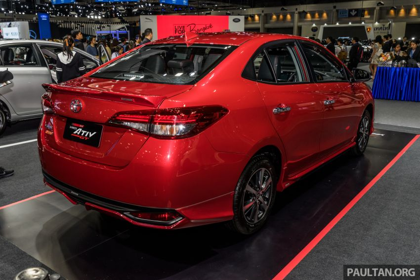 2020 Toyota Yaris and Yaris Ativ on display at Thailand Motor Expo – new 1.2L engine with VVT-iE; 3 variants Image #1053643