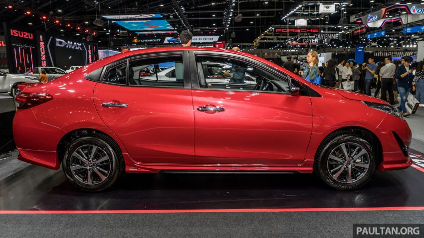 2020 Toyota Yaris and Yaris Ativ on display at Thailand Motor Expo – new 1.2L engine with VVT-iE; 3 variants Image #1053644