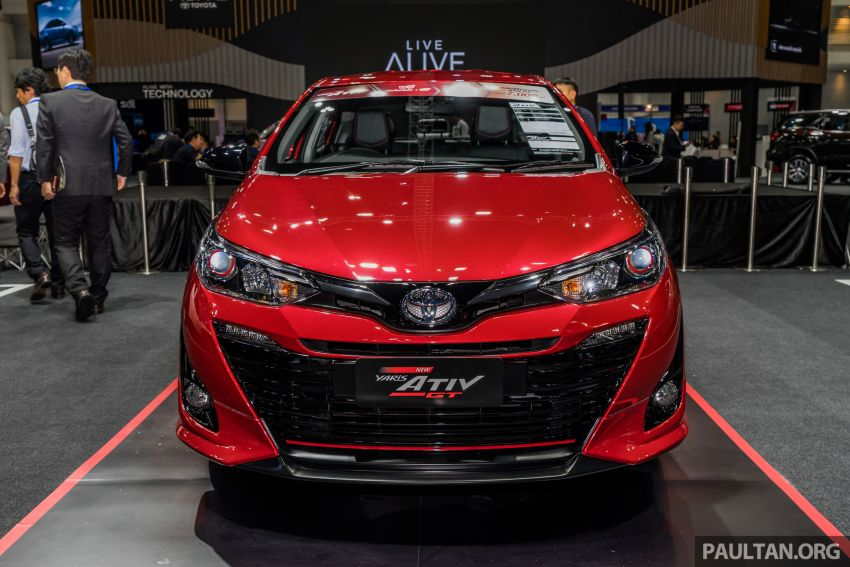 2020 Toyota Yaris and Yaris Ativ on display at Thailand Motor Expo – new 1.2L engine with VVT-iE; 3 variants Image #1053645