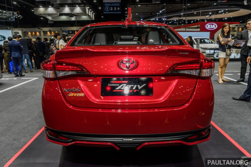2020 Toyota Yaris and Yaris Ativ on display at Thailand Motor Expo – new 1.2L engine with VVT-iE; 3 variants Image #1053646