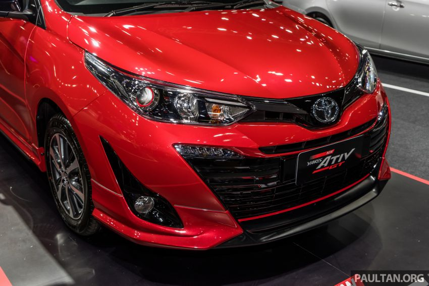 2020 Toyota Yaris and Yaris Ativ on display at Thailand Motor Expo – new 1.2L engine with VVT-iE; 3 variants Image #1053647