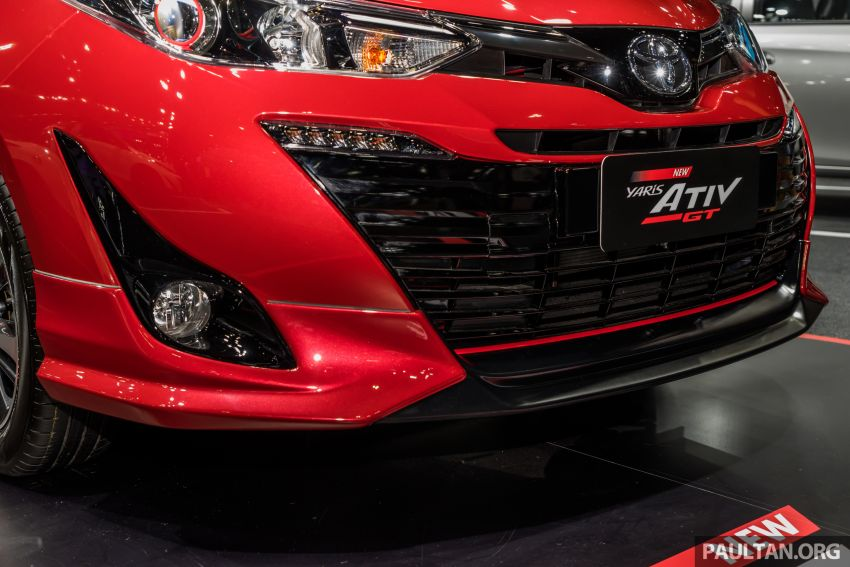 2020 Toyota Yaris and Yaris Ativ on display at Thailand Motor Expo – new 1.2L engine with VVT-iE; 3 variants Image #1053649