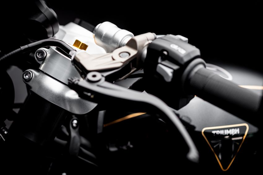 2020 Triumph Bobber TFC – 750 made worldwide Image #1044053