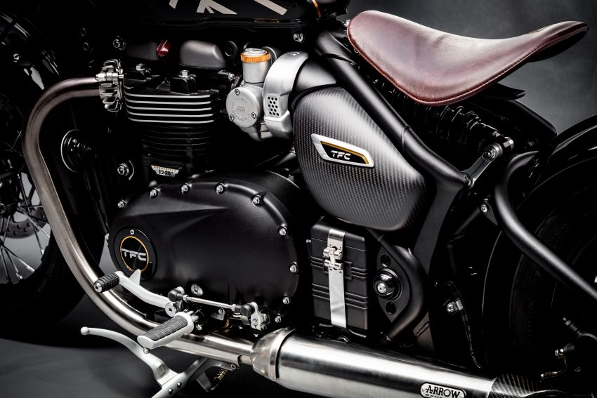 2020 Triumph Bobber TFC – 750 made worldwide Image #1044055