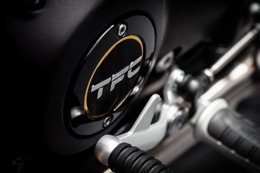 2020 Triumph Bobber TFC – 750 made worldwide Image #1044056