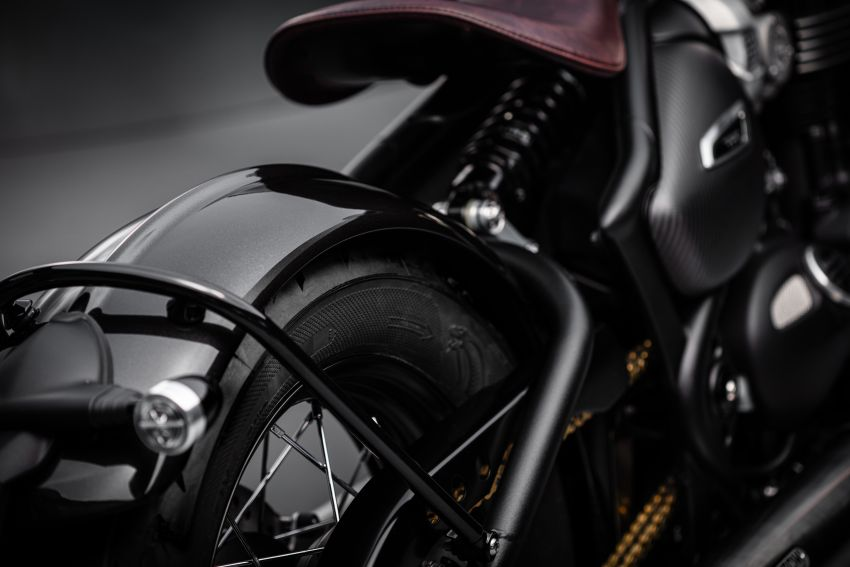 2020 Triumph Bobber TFC – 750 made worldwide Image #1044081