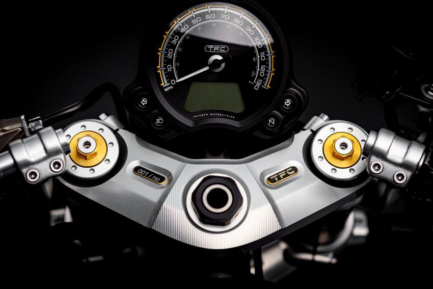 2020 Triumph Bobber TFC – 750 made worldwide Image #1044089