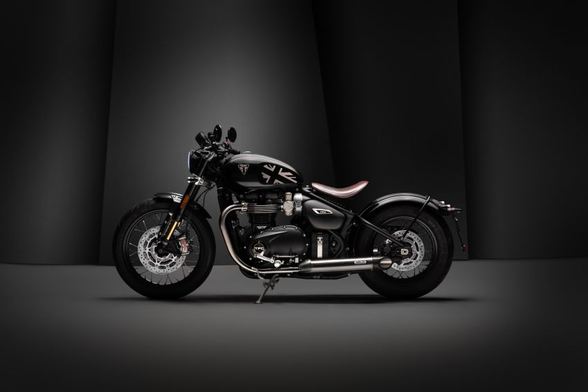 2020 Triumph Bobber TFC – 750 made worldwide Image #1044090