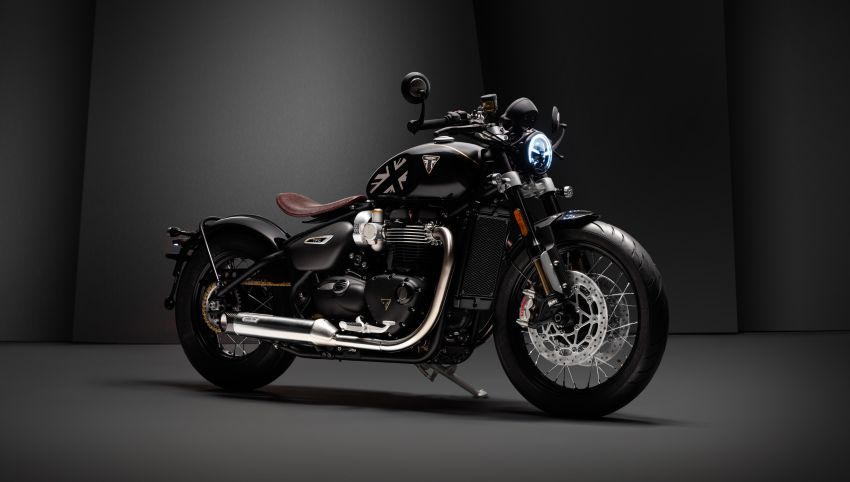 2020 Triumph Bobber TFC – 750 made worldwide Image #1044092