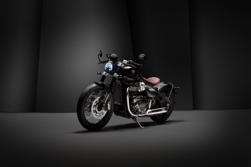 2020 Triumph Bobber TFC – 750 made worldwide Image #1044095