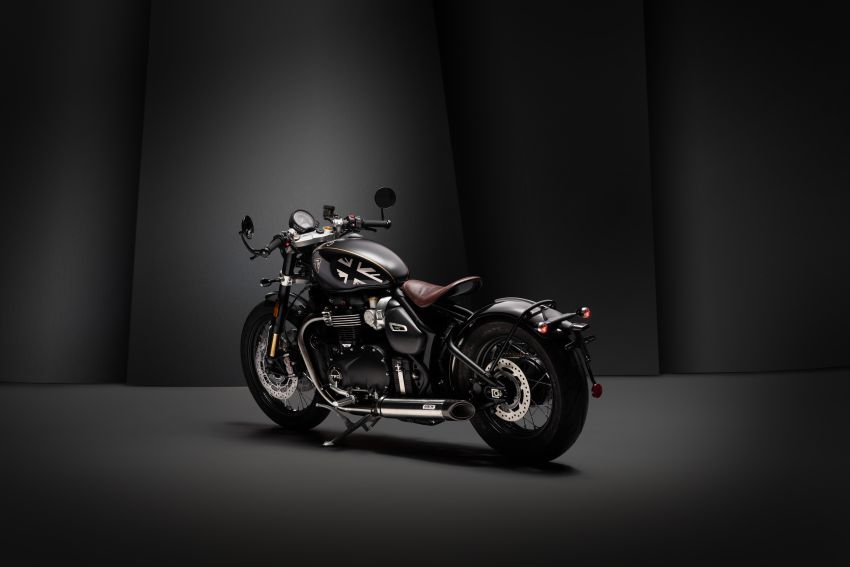 2020 Triumph Bobber TFC – 750 made worldwide Image #1044096