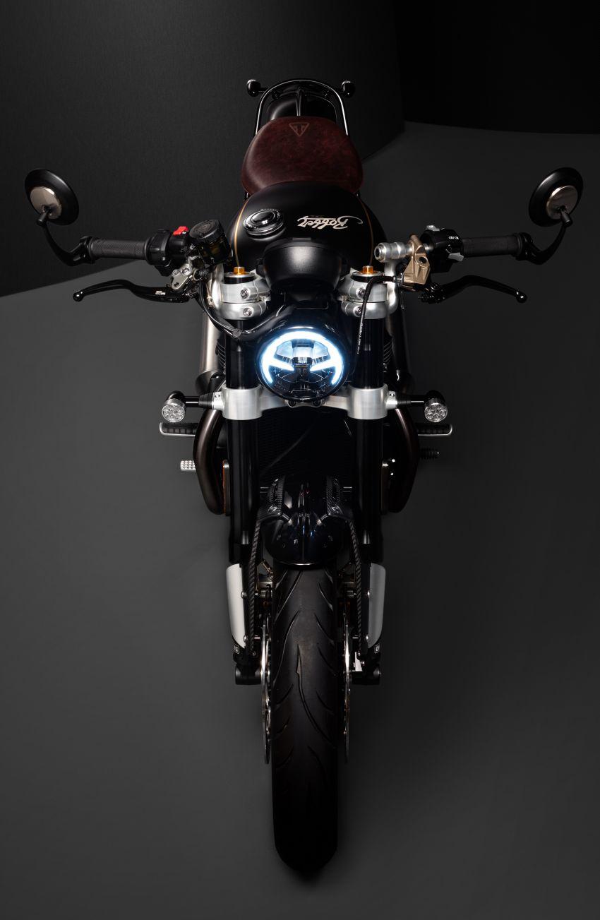2020 Triumph Bobber TFC – 750 made worldwide Image #1044098