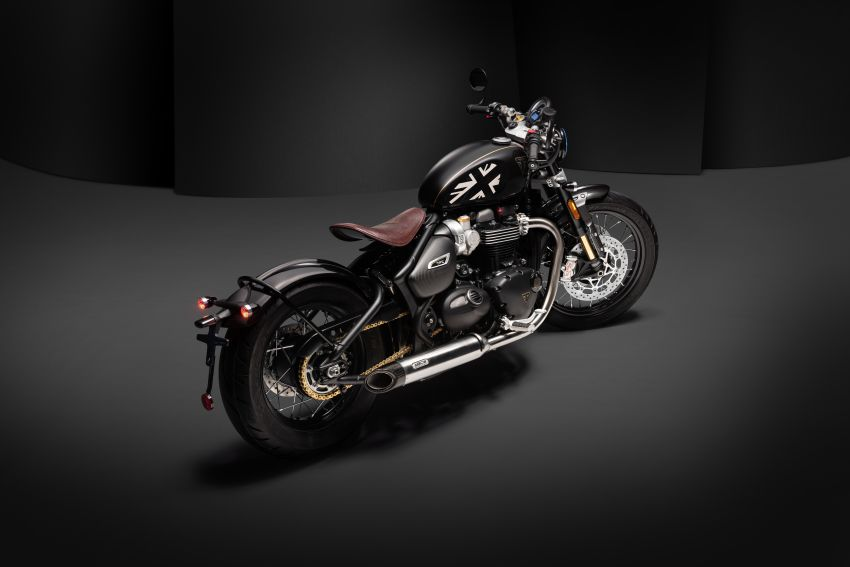 2020 Triumph Bobber TFC – 750 made worldwide Image #1044101