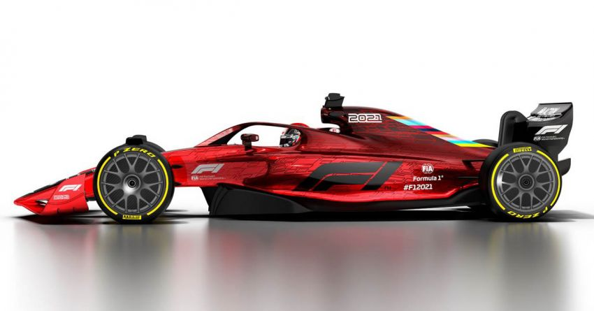 Formula 1 to undergo significant rule changes in 2021 – more beautiful cars, cost cap to be implemented Image #1038198