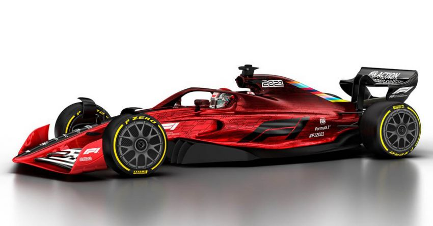 Formula 1 to undergo significant rule changes in 2021 – more beautiful cars, cost cap to be implemented Image #1038202