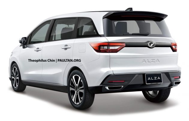 Perodua Alza 2019 Malaysia - Feb Contoh