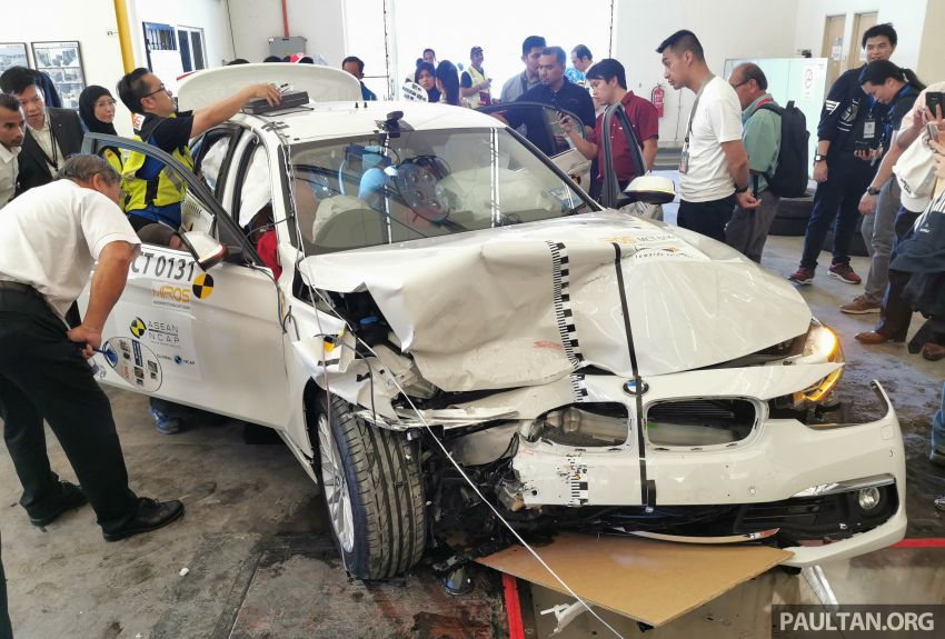 ASEAN NCAP – F30 BMW 318i scores four stars in test; five-star rating for AOP, four-star rating for COP Image #1053902
