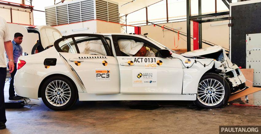 ASEAN NCAP – F30 BMW 318i scores four stars in test; five-star rating for AOP, four-star rating for COP Image #1053913