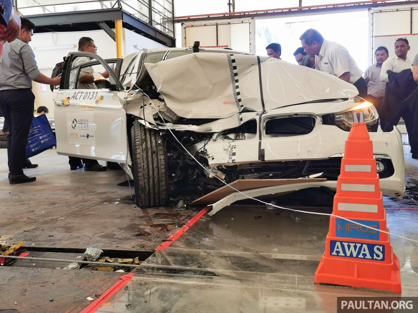 ASEAN NCAP – F30 BMW 318i scores four stars in test; five-star rating for AOP, four-star rating for COP Image #1053903