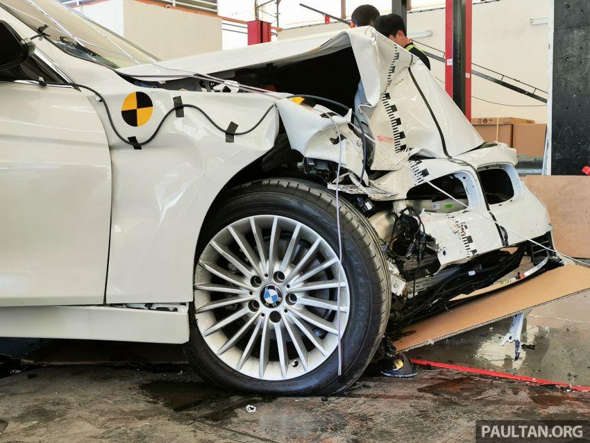 ASEAN NCAP – F30 BMW 318i scores four stars in test; five-star rating for AOP, four-star rating for COP Image #1053907