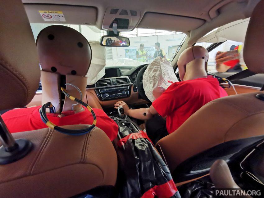 ASEAN NCAP – F30 BMW 318i scores four stars in test; five-star rating for AOP, four-star rating for COP Image #1053910