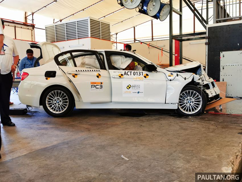 ASEAN NCAP – F30 BMW 318i scores four stars in test; five-star rating for AOP, four-star rating for COP Image #1053912