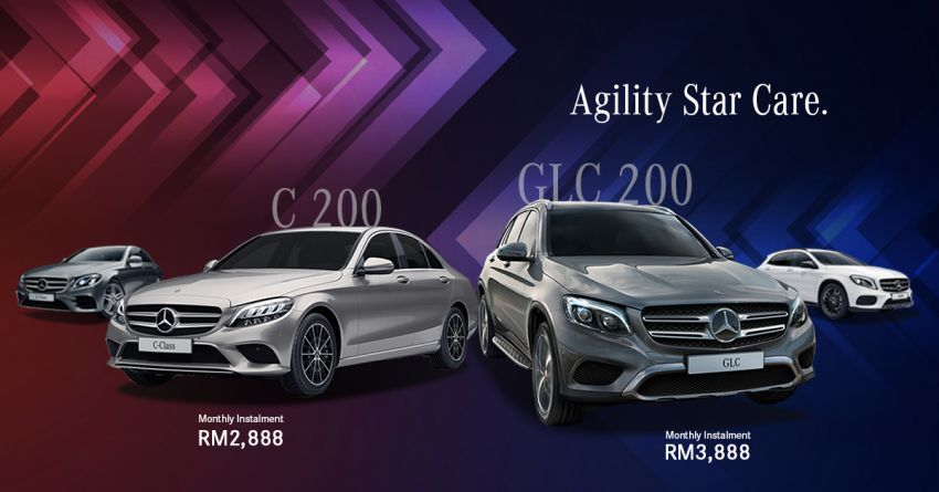 AD: Great benefits with Agility Star Care when booking a Mercedes-Benz C200 or GLC200 with Hap Seng Star Image #1046552